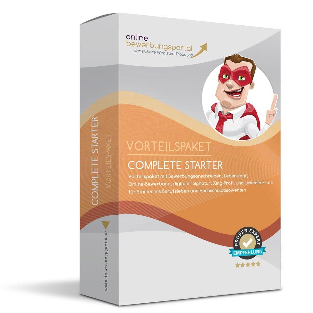 Complete Starter Für Berufsanfänger Das Online Bewerbungsportal