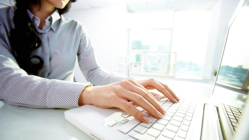 Bewerbung per Online Formular