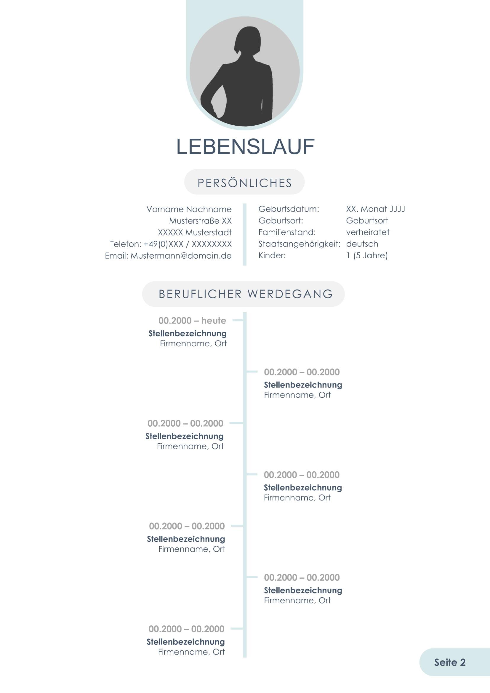 Nett Aktueller Meisterschüler Lebenslauf Fotos - Beispiel Business ...