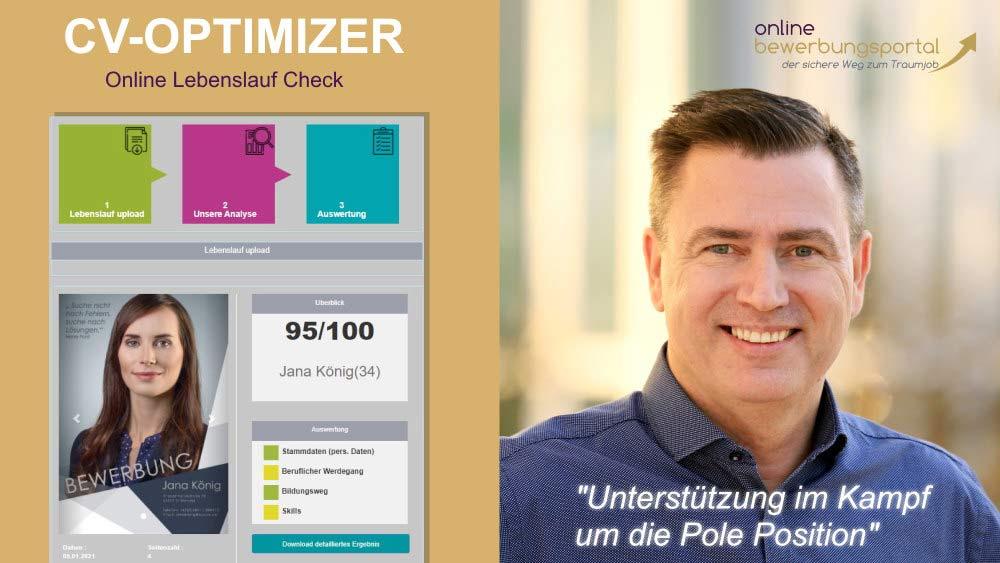 Interview mit Dirk Hanusch zum neuen Produkt – CV-Optimizer
